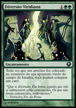 Diversão Viridiana / Viridian Revel-Magic: The Gathering-MoxLand
