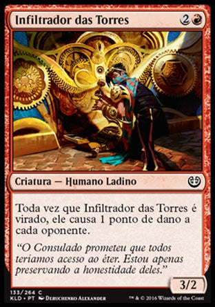 Infiltrador das Torres / Spireside Infiltrator-Magic: The Gathering-MoxLand