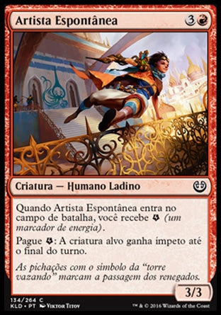 Artista Espontânea / Spontaneous Artist-Magic: The Gathering-MoxLand