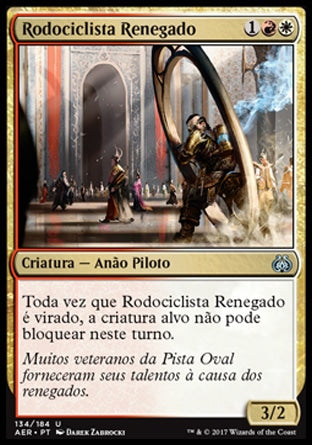 Rodociclista Renegado / Renegade Wheelsmith-Magic: The Gathering-MoxLand