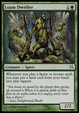Habitante da Marga / Loam Dweller-Magic: The Gathering-MoxLand