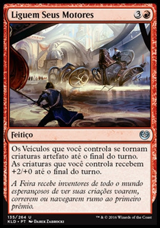 Liguem Seus Motores / Start Your Engines-Magic: The Gathering-MoxLand