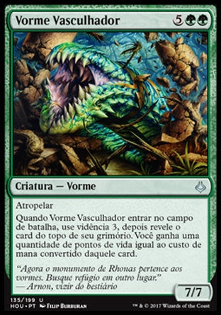 Vorme Vasculhador / Sifter Wurm-Magic: The Gathering-MoxLand