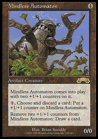 Autômato Descuidado / Mindless Automaton-Magic: The Gathering-MoxLand