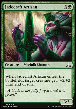 Artesão Jadeiro / Jadecraft Artisan-Magic: The Gathering-MoxLand