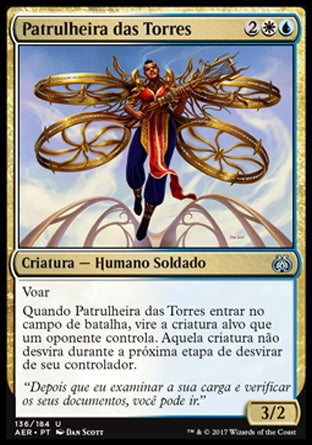 Patrulheira das Torres / Spire Patrol-Magic: The Gathering-MoxLand
