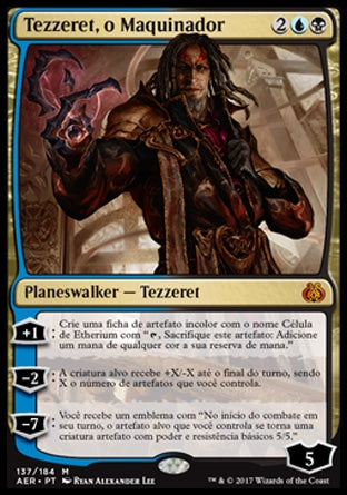 Tezzeret, o Maquinador / Tezzeret the Schemer-Magic: The Gathering-MoxLand