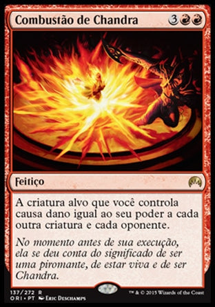 Combustão de Chandra / Chandra's Ignition-Magic: The Gathering-MoxLand