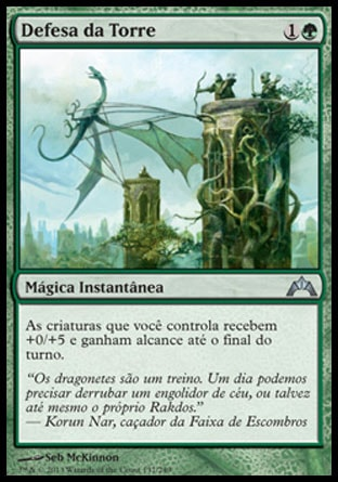 Defesa da Torre / Tower Defense-Magic: The Gathering-MoxLand