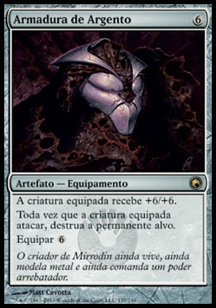 Armadura de Argento / Argentum Armor-Magic: The Gathering-MoxLand