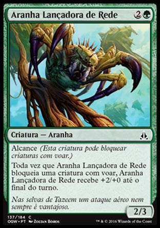 Aranha Lançadora de Rede / Netcaster Spider-Magic: The Gathering-MoxLand