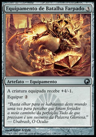 Equipamento de Batalha Farpado / Barbed Battlegear-Magic: The Gathering-MoxLand