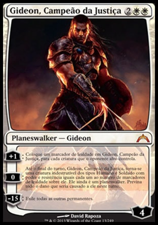 Gideon, Campeão da Justiça / Gideon, Champion of Justice-Magic: The Gathering-MoxLand