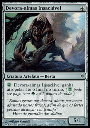 Devora-almas Insaciável / Insatiable Souleater-Magic: The Gathering-MoxLand