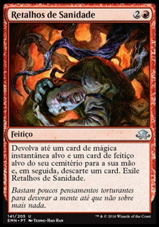 Retalhos de Sanidade / Shreds of Sanity-Magic: The Gathering-MoxLand