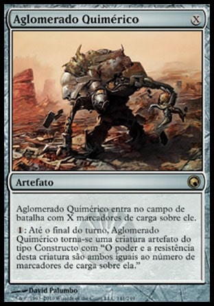 Aglomerado Quimérico / Chimeric Mass-Magic: The Gathering-MoxLand