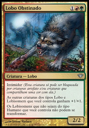 Lobo Obstinado / Immerwolf-Magic: The Gathering-MoxLand