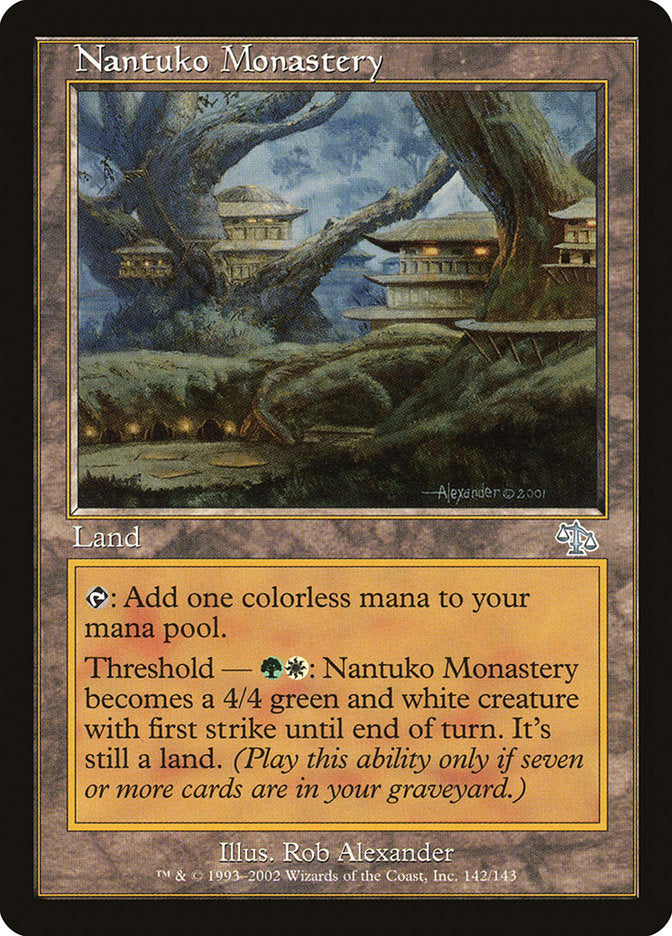 Monastério dos Nantukos / Nantuko Monastery-Magic: The Gathering-MoxLand