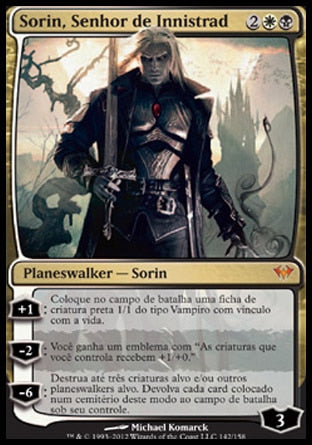 Sorin, Senhor de Innistrad / Sorin, Lord of Innistrad-Magic: The Gathering-MoxLand