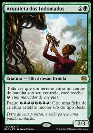 Arquiteta dos Indomados / Architect of the Untamed-Magic: The Gathering-MoxLand