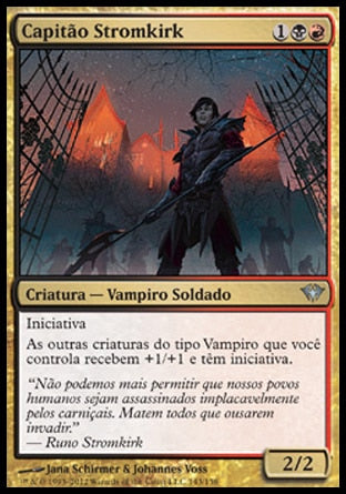 Capitão Stromkirk / Stromkirk Captain-Magic: The Gathering-MoxLand