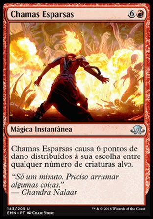 Chamas Esparsas / Spreading Flames-Magic: The Gathering-MoxLand