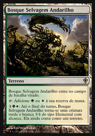 Bosque Selvagem Andarilho / Stirring Wildwood-Magic: The Gathering-MoxLand