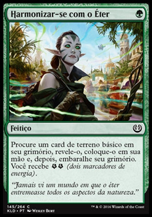 Harmonizar-se com o Éter / Attune with Aether-Magic: The Gathering-MoxLand
