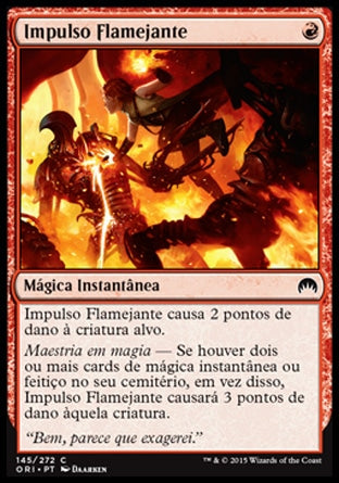 Impulso Flamejante / Fiery Impulse-Magic: The Gathering-MoxLand