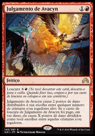 Julgamento de Avacyn / Avacyn's Judgment-Magic: The Gathering-MoxLand