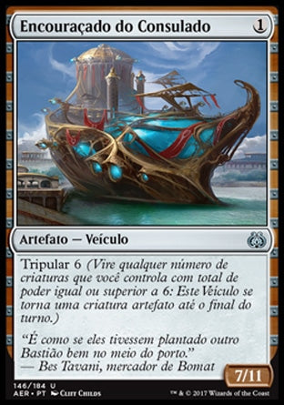 Encouraçado do Consulado / Consulate Dreadnought-Magic: The Gathering-MoxLand