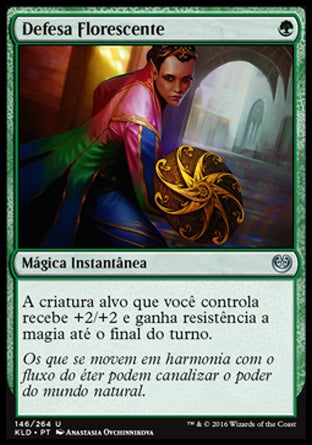 Defesa Florescente / Blossoming Defense-Magic: The Gathering-MoxLand