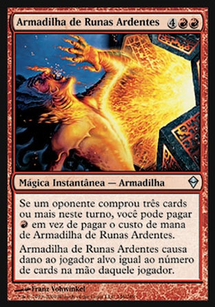 Armadilha de Runas Ardentes / Runeflare Trap-Magic: The Gathering-MoxLand