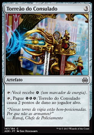 Torreão do Consulado / Consulate Turret-Magic: The Gathering-MoxLand