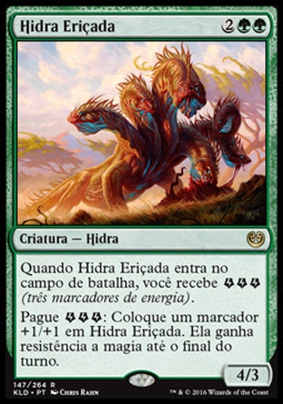 Hidra Eriçada / Bristling Hydra-Magic: The Gathering-MoxLand