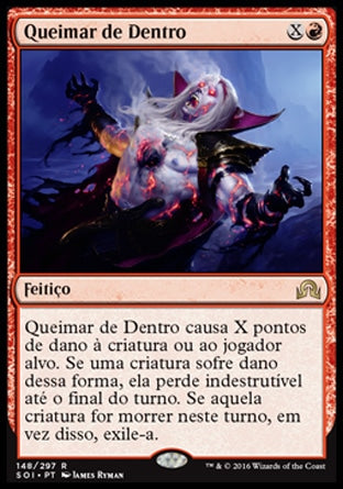 Queimar de Dentro / Burn from Within-Magic: The Gathering-MoxLand