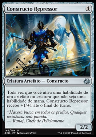 Constructo Repressor / Crackdown Construct-Magic: The Gathering-MoxLand