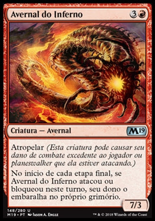 Avernal do Inferno / Inferno Hellion-Magic: The Gathering-MoxLand