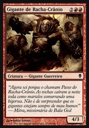 Gigante de Racha-Crânio / Shatterskull Giant-Magic: The Gathering-MoxLand