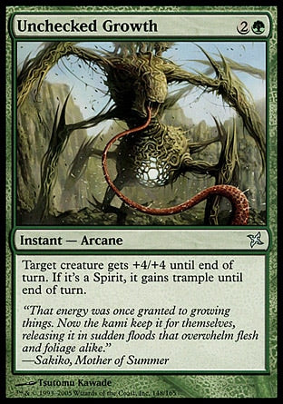 Crescimento Incontido / Unchecked Growth-Magic: The Gathering-MoxLand