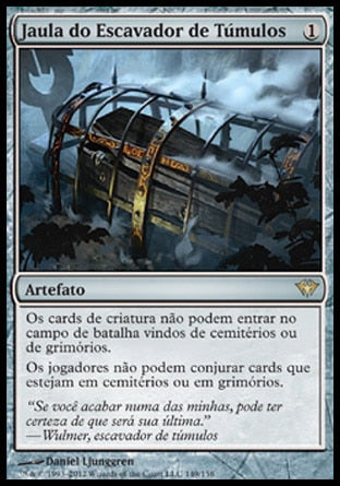 Jaula do Escavador de Túmulos / Grafdigger's Cage-Magic: The Gathering-MoxLand