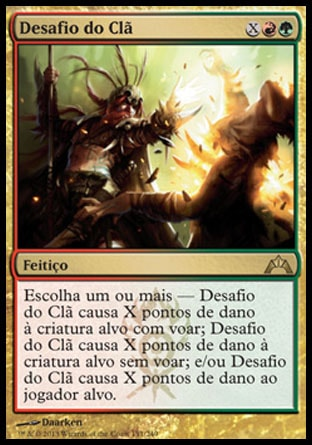 Desafio do Clã / Clan Defiance-Magic: The Gathering-MoxLand