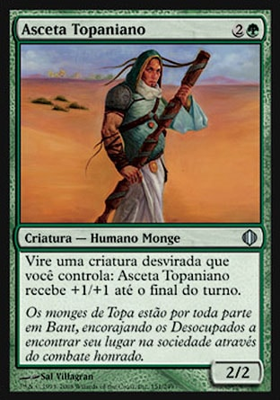 Asceta Topaniano / Topan Ascetic-Magic: The Gathering-MoxLand
