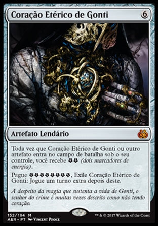 Coração Etérico de Gonti / Gonti's Aether Heart-Magic: The Gathering-MoxLand