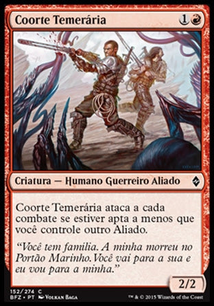 Coorte Temerária / Reckless Cohort-Magic: The Gathering-MoxLand