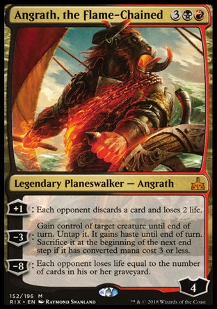 Angrath das Correntes Flamejantes / Angrath, the Flame-Chained-Magic: The Gathering-MoxLand