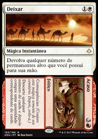 Deixar / Acaso / Leave / Chance-Magic: The Gathering-MoxLand