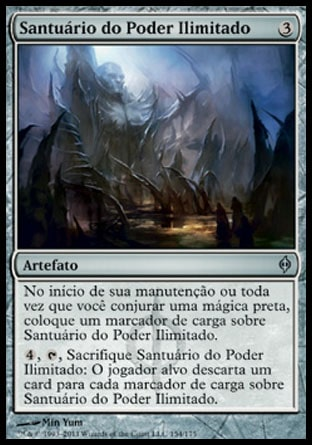 Santuário do Poder Ilimitado / Shrine of Limitless Power-Magic: The Gathering-MoxLand