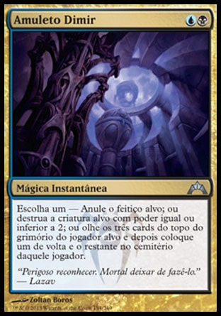 Amuleto Dimir / Dimir Charm-Magic: The Gathering-MoxLand