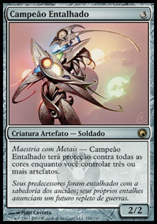 Campeão Entalhado / Etched Champion-Magic: The Gathering-MoxLand